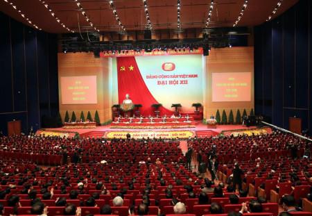 Toàn cảnh Đại hội phiên khai mạc Đại hội XII - Ảnh: Lưu Quang Phổ