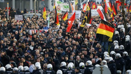 Nước Đức rúng động về nạn tấn công tình dục. Ảnh RFI