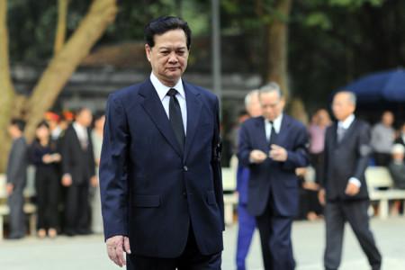 TT Nguyễn Tấn Dũng. Hình internet