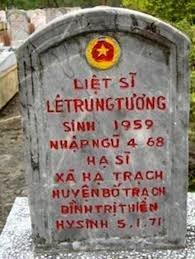 Sinh năm 1959, nhập ngũ năm 1968 (9 tuổi), chết năm 1971 (12 tuổi). Huyện Bố Trạch, tỉnh Quảng Bình, phía bắc tỉnh Quảng Trị. (Nguồn Internet)