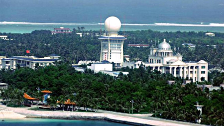 Đảo Phú Lâm. Ảnh AFP