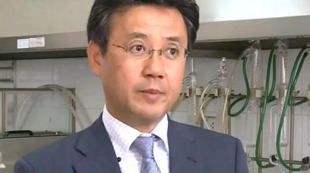 Giáo sư Yoshihiko Yamada là một trong các chuyên gia được Việt Nam mời điều tra độc lập vụ cá chết hàng loạt. Ảnh VTV