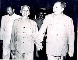 Hồ Chí Minh và Mao Trạch Đông. Ảnh ditichhochiminhphuchutich.gov.vn