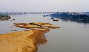 Sông Hồng. Ảnh Vietq.vn