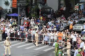 Dân SG đón TT Obama