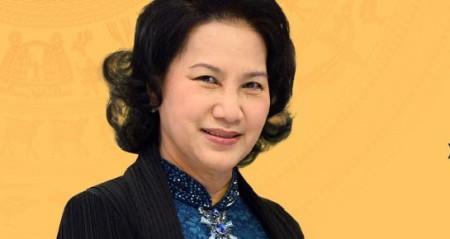Bà Kim Ngân. Ảnh VTC
