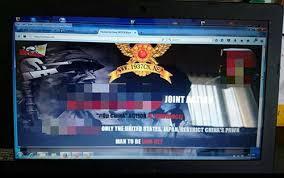 Sự cố tin tặc ỏ sân bay Nội Bài