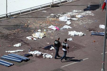 Thảm họa ở Nice 2016. Ảnh  GlobalNews