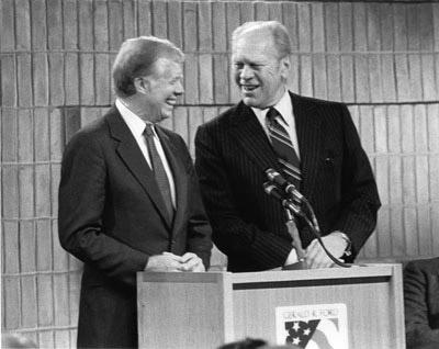 Gerald Ford và Jimmi Carter