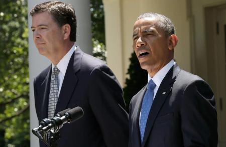 Tổng Thống Obama công bố đề cử ông James Comey vào chức vụ Giám Đốc FBI năm 2013