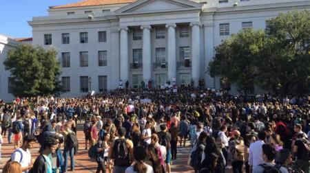 H01: Đại học Berkeley sáng ngày 9/11 (ảnh Bùi Văn Phú)
