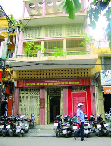 Ngôi nhà số 48 phố Hàng Ngang của ông bà Trịnh Văn Bô.