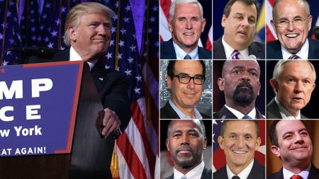 Nhũng người được cho là sẽ có mặt trong nội các của Donald Trump