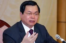 Ông Vũ Huy Hoàng. Ảnh VietTimes