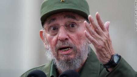 Fidel Castro. Ảnh CNN