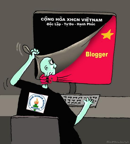 Nhân quyền cho mạng blogger Việt Nam