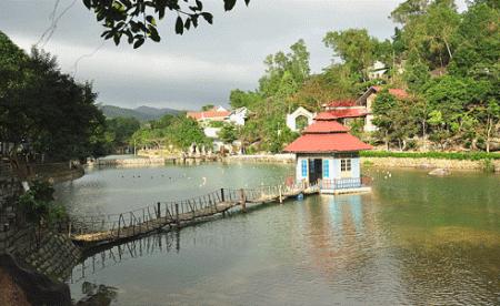 Một góc Khu du lịch sinh thái Đá Bia. Ảnh: vietnamtourism