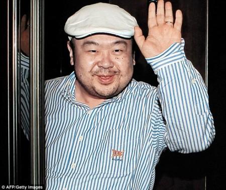 Kim Jong Nam. Ảnh Daily Mail