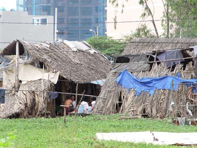 Nhà trọ công nhân khu công nghiệp Tân Tạo. Ảnh:N.B/ Tuổi Trẻ Online