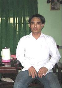 Hình chụp anh Hoành tức Đoàn Huy Chương tại SG ngày 15/05/08.