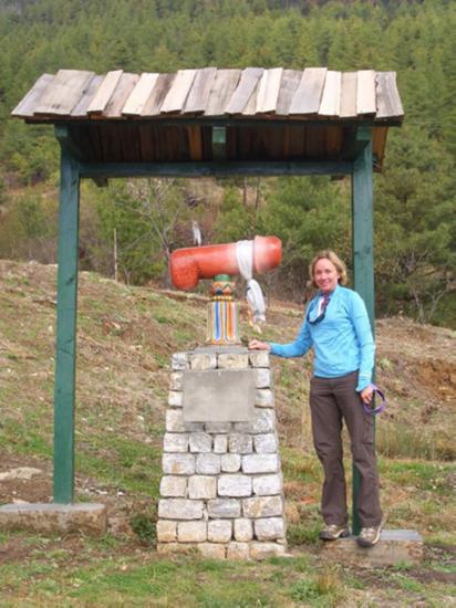 Ở Bhutan với một nữ du khách