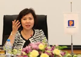 Bà thứ trưởng Hồ Thị Kim Thoa