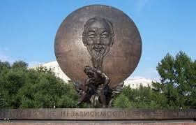 Tượng HCM ở Moscow. Ảnh mang tính minh họa