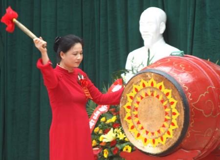 Bà Ngọc khi còn công tác ở trường Nguyễn Khả Trạc
