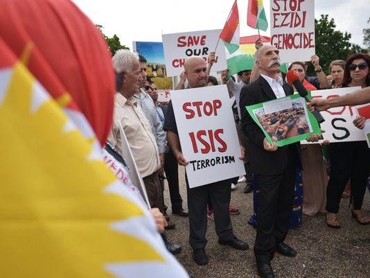 Năm 2014 sự trỗi dậy của nhà nước Hồi Giáo tự xưng IS trở thành nguy cơ khủng bố lớn nhất, khiến thế giới lo ngại. Ảnh: USAToday