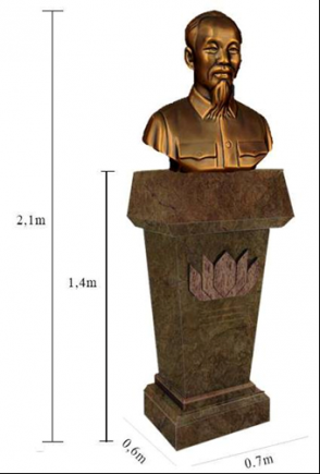 Về sự kiện dựng tượng đài HCM bất thành tại nước Áo