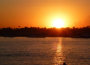 Hoàng hôn trên sông Nil