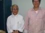 LM Phạm Văn Lợi chia sẻ tâm tình với LM Nguyễn Văn Lý